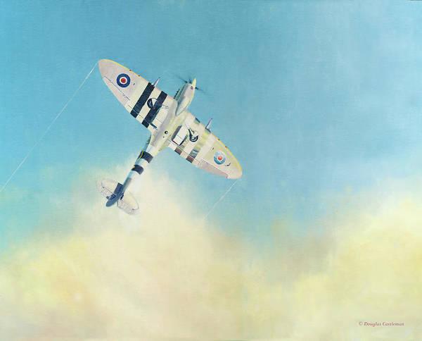 Painting - Cloud Bursting by Douglas Castleman