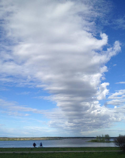 Sestroretsk Photograph - Cloud By Day by Christine Rivers