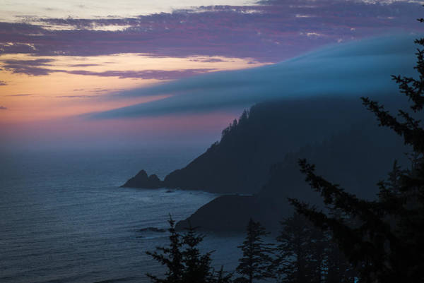 Photograph - Cloud Cap On Tillamook Head by Robert Potts