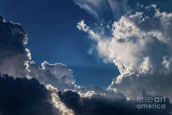 Photograph - Cloud Face Off by William Norton