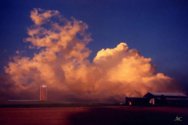 Photograph - Cloud Farm by Sam Davis Johnson