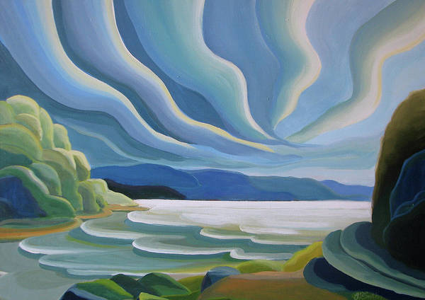 Painting - Cloud Forms by Barbel Smith