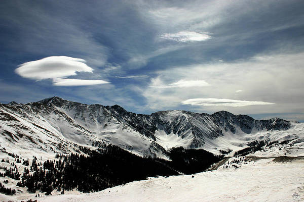 Photograph - Cloud Forms Over The Continental Divide by Wayne King