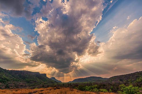 Photograph - Cloud Over Bandhavgarh 1 by Hitendra SINKAR