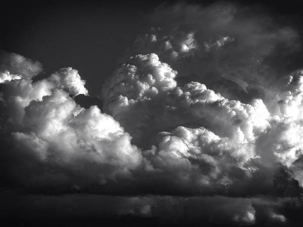 Photograph - Cloud Power Over The Lake by John Norman Stewart