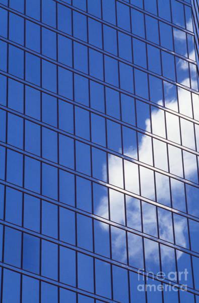 Wall Art - Photograph - Cloud Reflected On Windows by Joe Carini - Printscapes