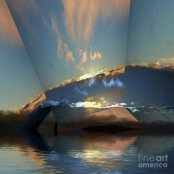 Wall Art - Photograph - Cloud Reflections 5 by Elaine Hunter