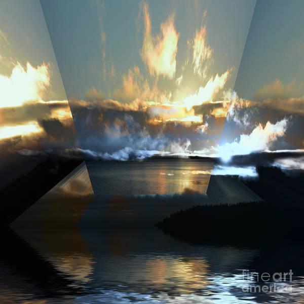 Wall Art - Photograph - Cloud Reflections 6 by Elaine Hunter