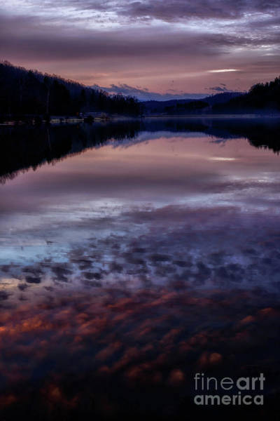 Photograph - Cloud Reflections At Dawn by Thomas R Fletcher