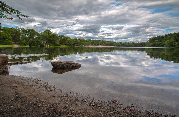 Photograph - Cloud Reflections At Houghton's Pond by Brian MacLean