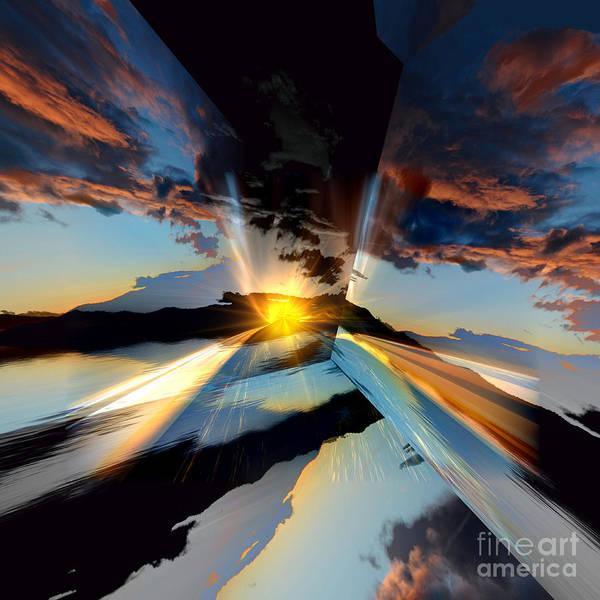 Wall Art - Photograph - Cloud Reflections by Elaine Hunter