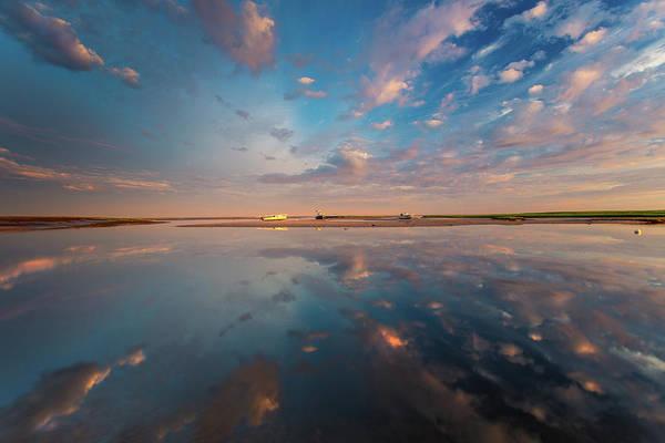 Wall Art - Photograph - Cloud Reflections On Boat Meadow  by Dapixara Photo Art