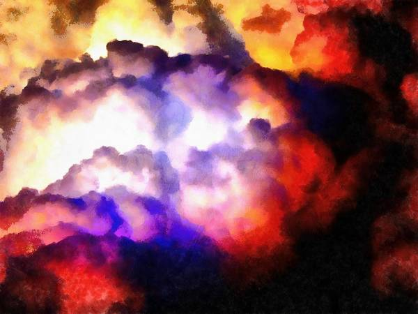 Photograph - Cloud Sculpting 1 by Dorothy Berry-Lound