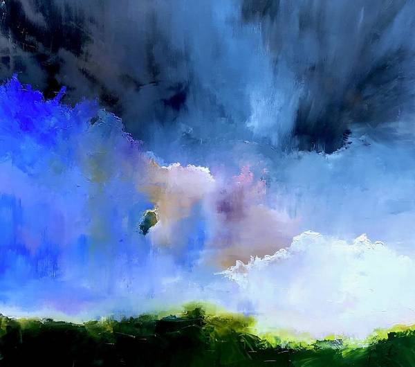 Wall Art - Painting - Cloud Shadow by Julia S Powell