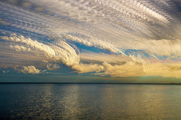 Wall Art - Photograph - Cloud Stack Over Lake Mille Lacs by Paul Freidlund