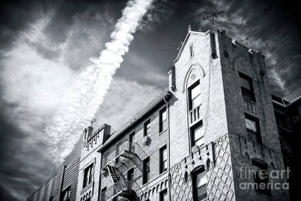 Wall Art - Photograph - Cloud Streaks Over Brighton Beach Brooklyn by John Rizzuto