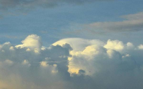 Nimbus Digital Art - Cloud Structures Two  by Lyle Crump