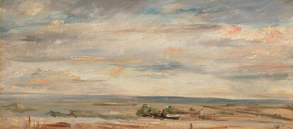Painting - Cloud Study Early Morning by John Constable