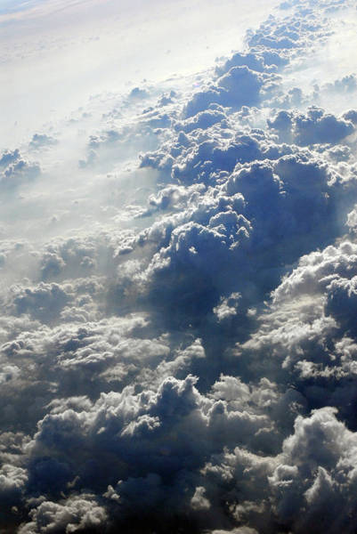 Aerial View Digital Art - Cloud Watching by Addison Fitzgerald