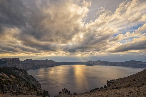 Photograph - Cloudcap Sunset by Loree Johnson