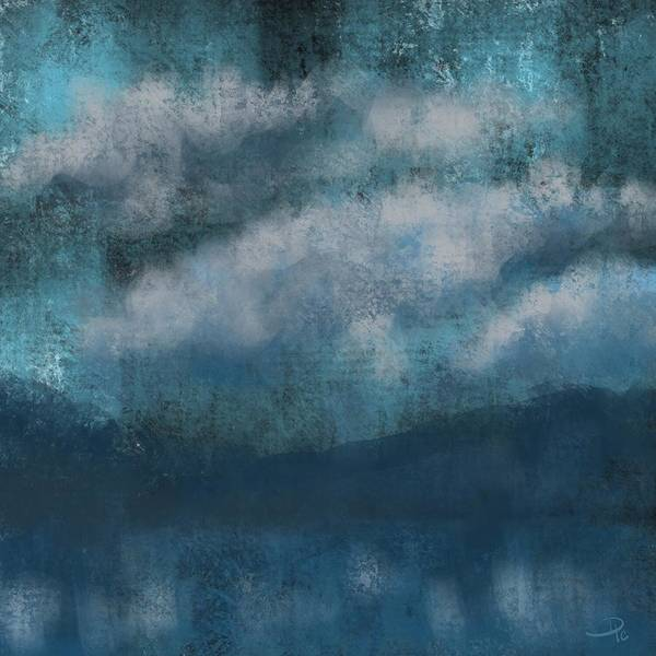 Wall Art - Digital Art - Clouded Lake by David G Paul