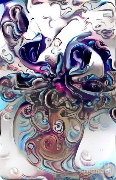 Wall Art - Digital Art - Clouded Mood by Amanda Moore
