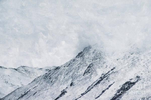 Wall Art - Photograph - Clouded Peaks by Priska Wettstein