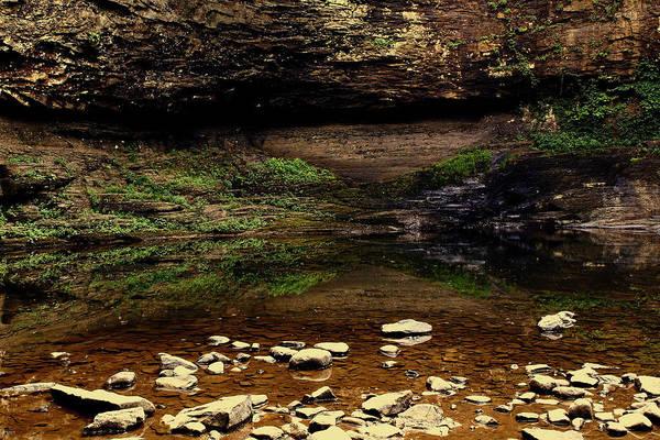 Cloudland Canyon Photograph - Cloudland Canyon Reflection by Jason Blalock