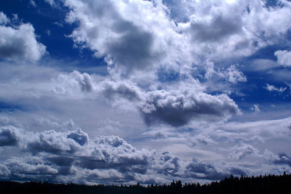 Photograph - Clouds #1 by Ben Upham III