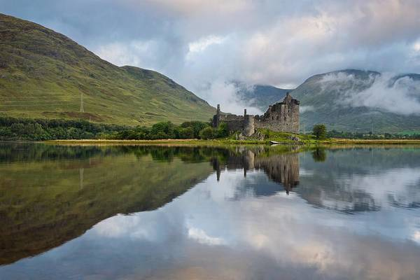 Photograph - Clouds Above Kilchurn by Stephen Taylor