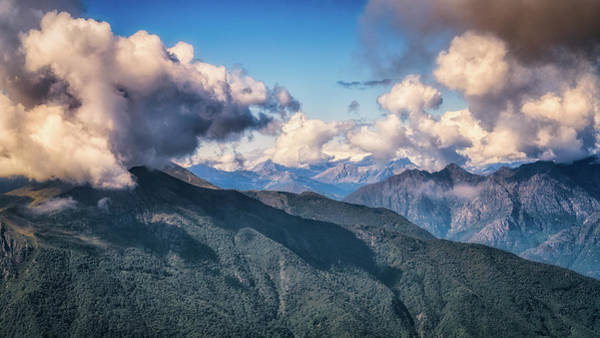 Photograph - Clouds Above Mottarone by James Billings