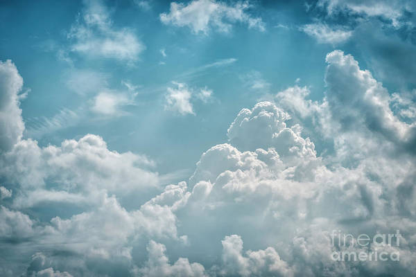 Photograph - Clouds And Blue Sky by Thomas R Fletcher