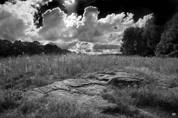 Photograph - Clouds And Ledges by John Meader