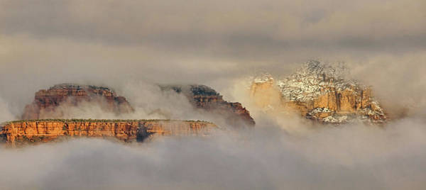 Photograph - Clouds And Mist Pano by Theo O'Connor