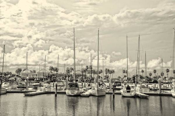 Photograph - Clouds And Sails Ambrose by Alice Gipson