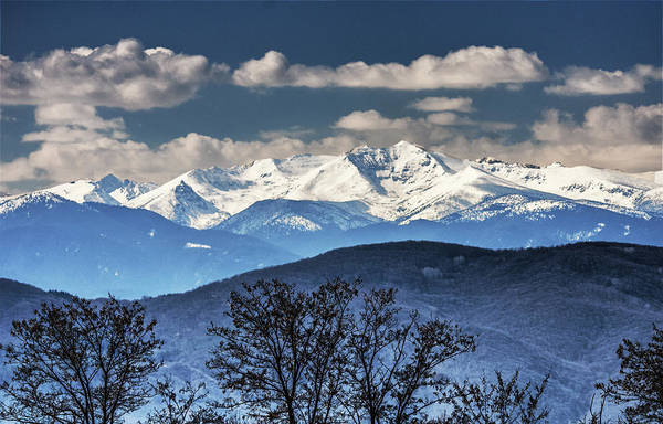 Photograph - Clouds And Snow  by Cliff Norton