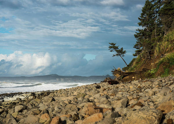 Photograph - Clouds And Stones by Robert Potts