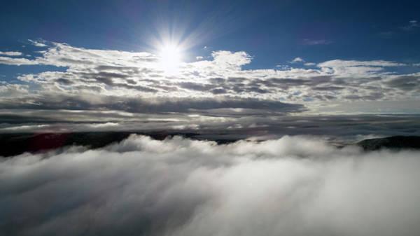 Photograph - Clouds And Sun by Matt Swinden