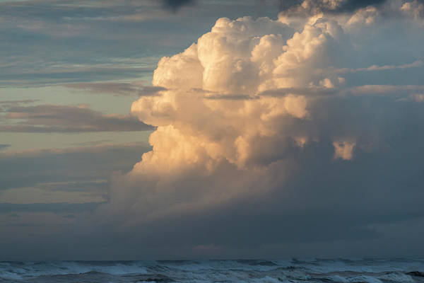 Photograph - Clouds And Surf by Robert Potts