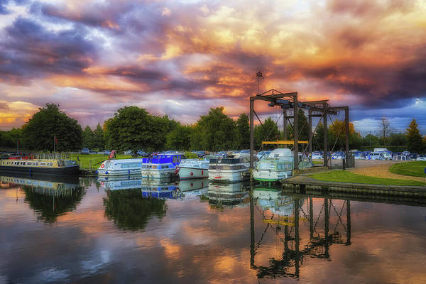 Photograph - Clouds At Sunset Over The Ouse by James Billings