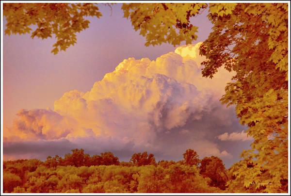 Clouds At Sunset, Southeastern Pennsylvania Art Print