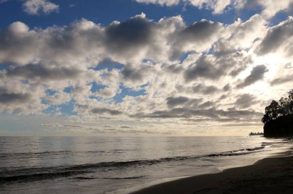 Photograph - Clouds At The Beach - 2 by Christy Pooschke
