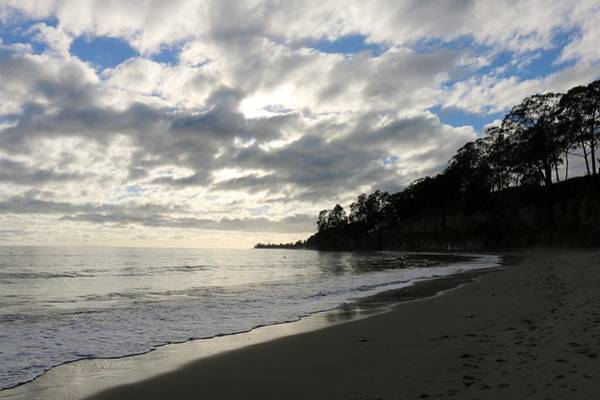 Photograph - Clouds At The Beach  by Christy Pooschke