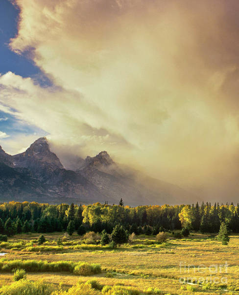 Photograph - Clouds Blacktail Ponds Grand Tetons National Park Wyoming by Dave Welling