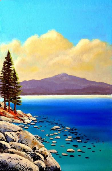 Painting - Clouds Coming In by Frank Wilson