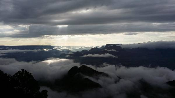 Photograph - Clouds Descend by Sarah Marie