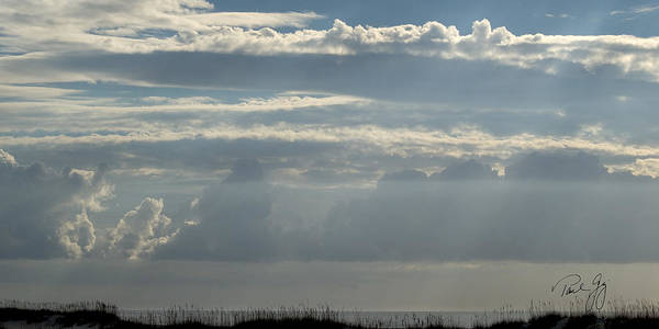 Wall Art - Photograph - Clouds Gulf Shores Alabama by Paul Gaj