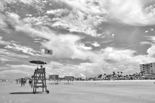 Wall Art - Photograph - Clouds On The Beach by Alice Gipson