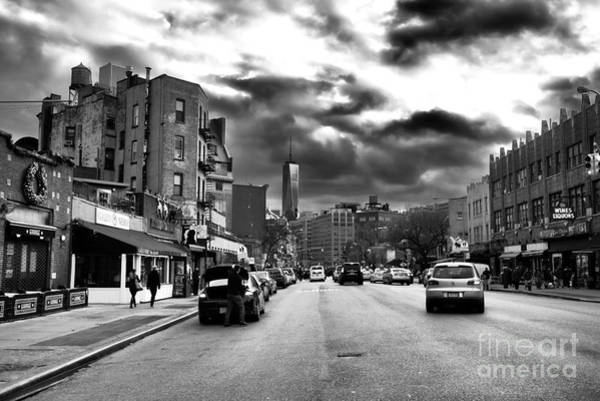 Wall Art - Photograph - Clouds Over 7th Avenue by John Rizzuto