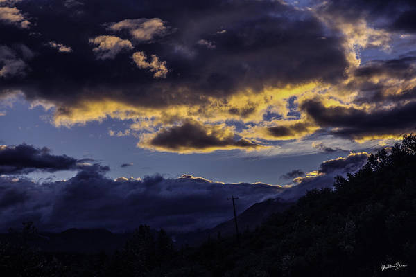 Wall Art - Photograph - Clouds Over Alaska by Madeline Ellis